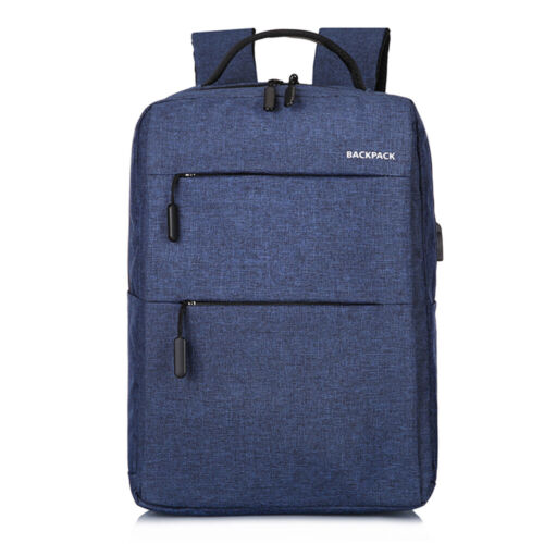 Anti-theft Laptop Notebook Backpack USB Charging Business School Travel Bag New