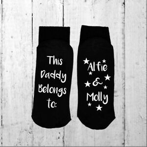 Personalised-Socks-This-Daddy-Belongs-to-Your-choice-of-names-and-print-colour