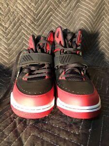 e0e3a169f68fff Men s Basketball Sneakers AIR JORDAN FLIGHT 97 red black Size 9 ...