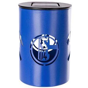 FC-Schalke-04-Solar-Tischleuchte-LED-Leuchtmittel-Schalter-S04-Design-Fanartikel