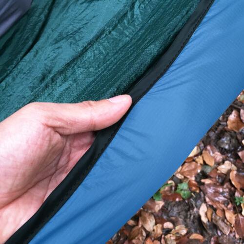 Lightweight Outdoor Hammock underquilt Pleine Longueur Hiver Chaud Sous Couverture