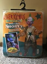 Shorty Killer Klowns From Outer Space Clown Fancy Dress Halloween Adult Costume