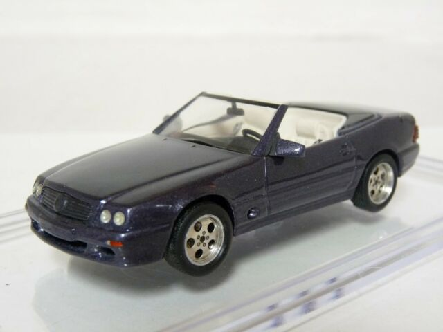 Hobby43 1/43 Mercedes-Benz 500SL Strosek R129 Handmade Diecast Model Car