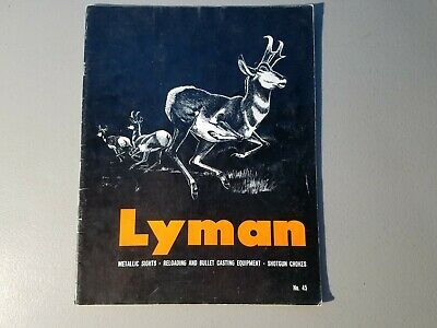 Lyman 1960-62 Sights No 43 Catalog