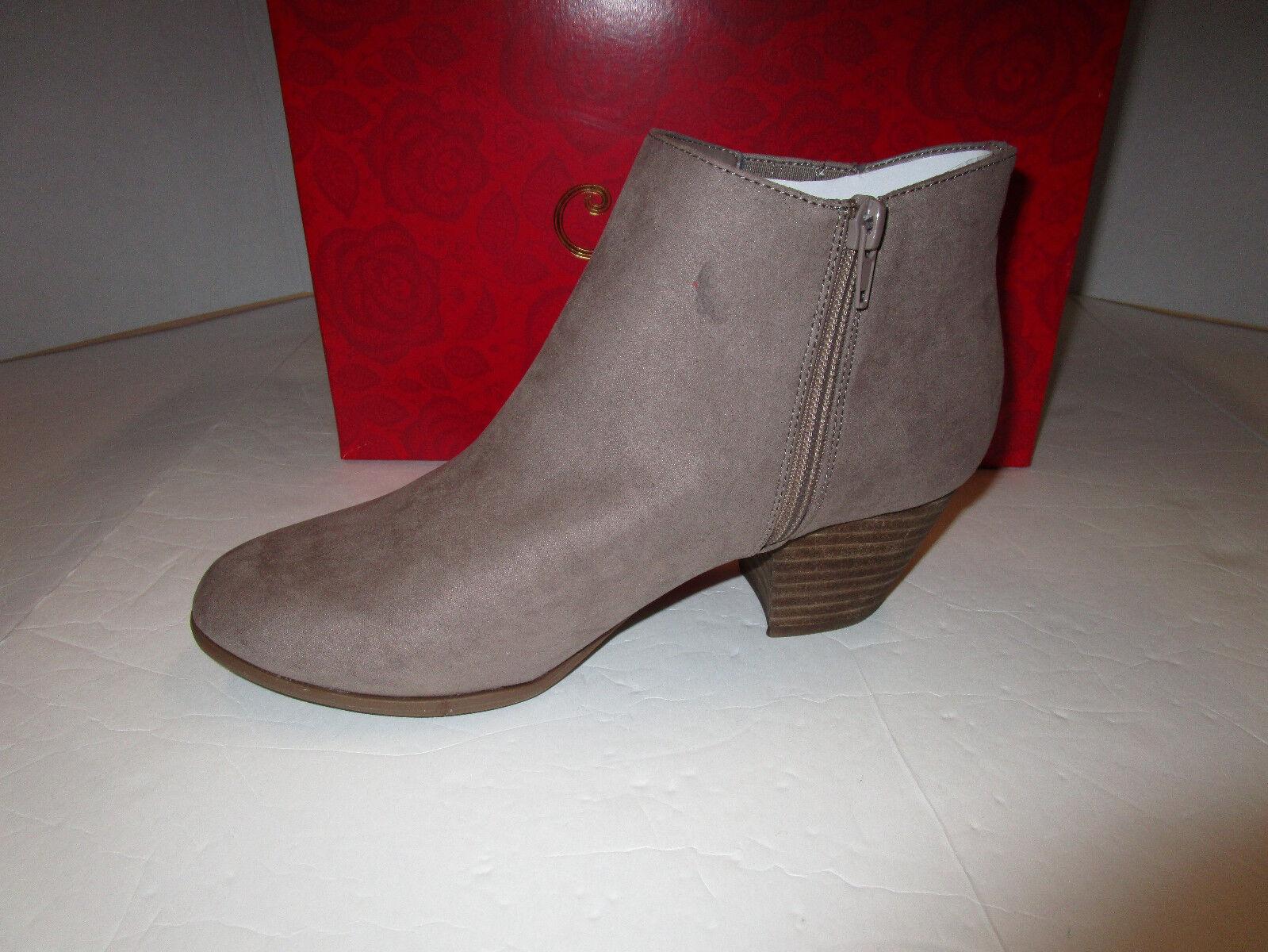 Nib Damenschuhe Carlos Santana Ankle Hazel Taupe Faux Suede Ankle Santana Stiefel Booties 9.5 5193b1