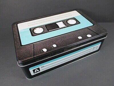 Herzhaft Vorratsdose Retro Cassette,aus Metall,23 Cm.,hoard Box Einfach Zu Schmieren