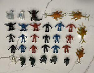 Patchisaurs Chinasaurs Ultraman D&D Rust Monster Bullette Rogun Robots Kaiju Lot
