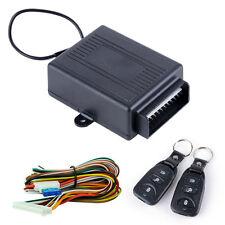 Universal Car 2 Remote Central Kit Door Locking Vehicle Keyless Entry System DT