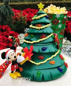 Disney 2019 Disneyland Resort Mickey Light UP Christmas Tree Popcorn Bucket NEW | eBay