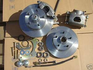 1956 CHEVY BEL AIR/210 FRONT DISC BRAKES EASY  BOLTS TO STOCK SPINDLES