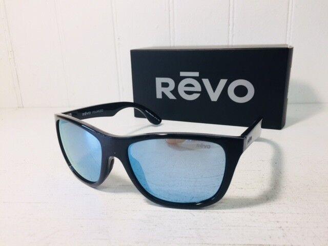 6534aa3924 Buy REVO Re1001 Otis Polarized Sunglasses Black blue Water 57mm online