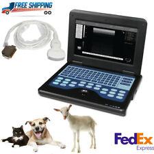 Contec Dog Cat Sheep Veterinary Ultrasound Scanner Convex Laptop Machine Usa