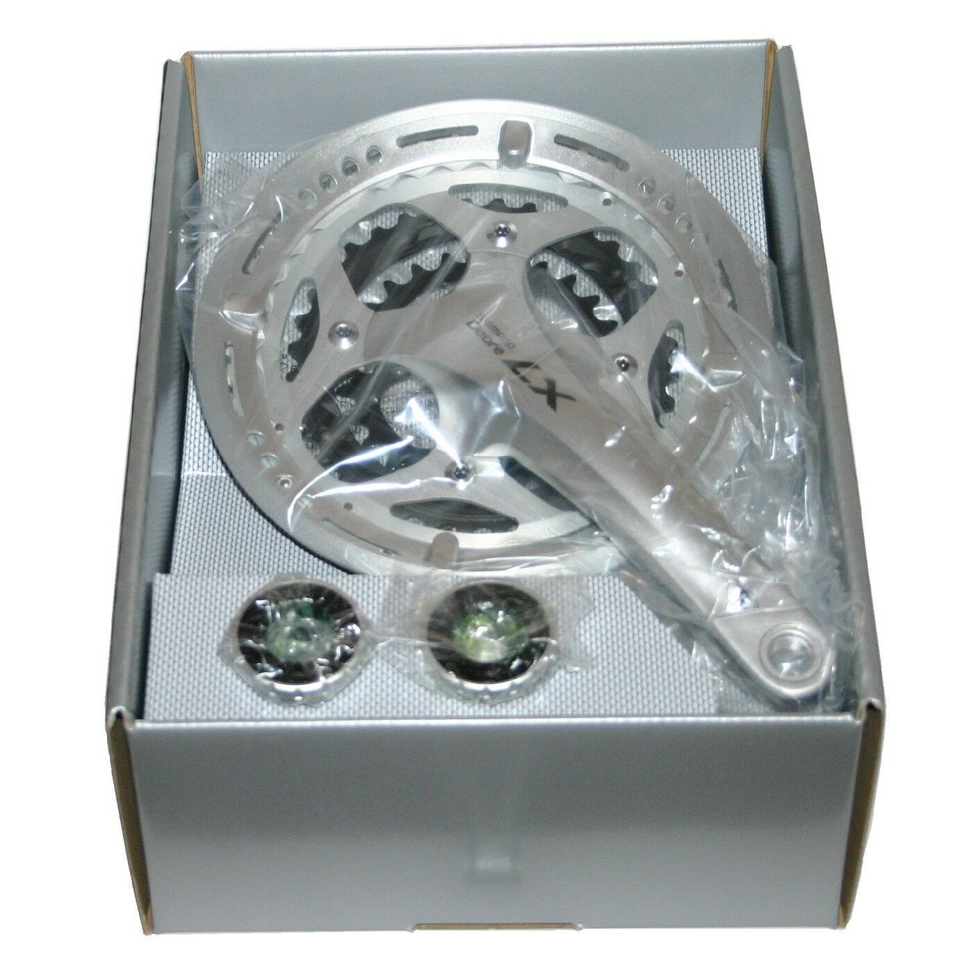 Shimano Deore LX 3x9 manivela crankset fc-t661 m. rodamiento sm-bb70 para sl-t660