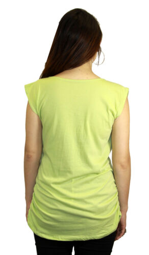 Green Maternity Blouse Light Neon Maternity Rave Pregnancy Blouse Pregnant Lace