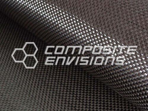 """Carbon Fiber Fabric Plain Weave 50/"""" 3k 5.7oz Commercial Grade"""