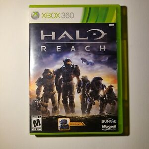 Halo Reach W/ Recon Helmet Code Xbox 360 2010 M-Mature Complete Tested/Working