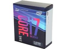Intel Core i7-8700K Coffee Lake 6-Core 3.7 GHz (4.7 GHz Turbo)