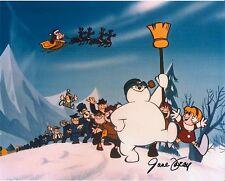 Frosty the Snowman rare signed photo JUNE FORAY voice of Karen TV Rankin Bass
