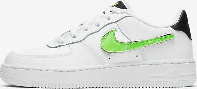 Details about NIKE AIR FORCE 1 LV8 3 (GS) SIZES 3 3.5 4 5.5 (AR7446 100) WHITE