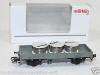 Märklin Spur H0 94162 Niederbordwagen m. Ladung Kabelrollen DB in OVP (JL5721)