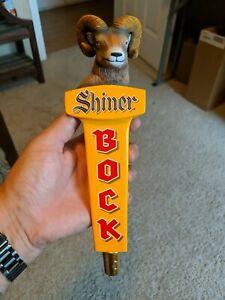 Shiner Bock Ram Head 11.5 Inch Tap Handle