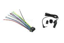 Wire & Mic FOR ALPINE IVA-W200 IVA-W203 IVA-W205 IVA-W505 IVA-D900 IVA-D901