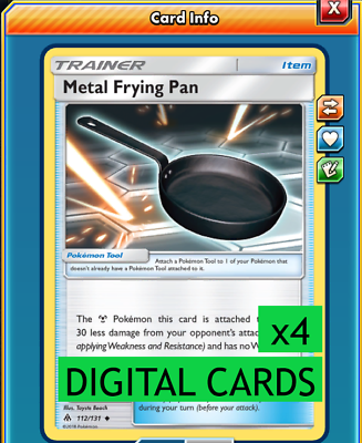 DIGITAL ptcgo in Game Card - for Pokemon TCG Online 2x Fairy Charm L