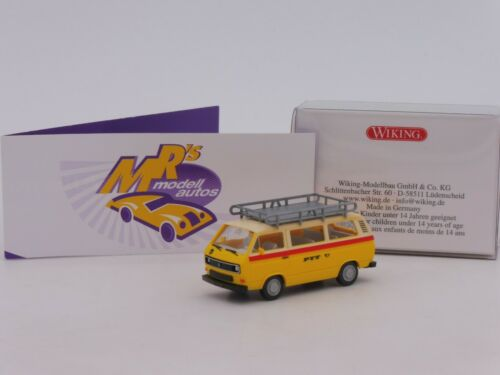 "Wiking 0292 01 # VW Bus T3 Kombi Bj 1979-92 /"" PTT Schweizer Post /"" 1:87 NEU"