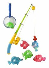 Toddler toys Magnetic Light Up Fishing Bath Toy Set for Kids toddlers NEW