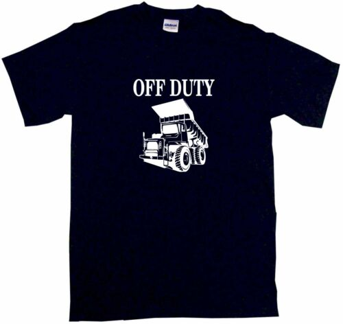 XL Off Duty Dumptruck Logo Kids Tee Shirt Pick Size /& Color 2T