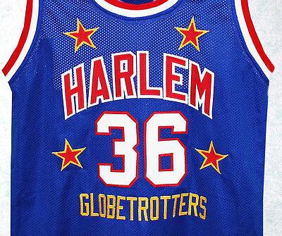 HARLEM GLOBETROTTERS JERSEY MEADOWLARK LEMON #36 SEWN NEW AUTHORIZED ANY SIZE | eBay