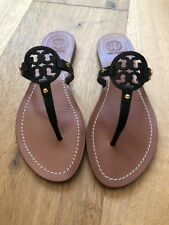 94cf5430cf4a4c item 2 NWB Tory Burch Mini Miller Veg Leather Thong Sandals Black Size 7.5 -NWB  Tory Burch Mini Miller Veg Leather Thong Sandals Black Size 7.5