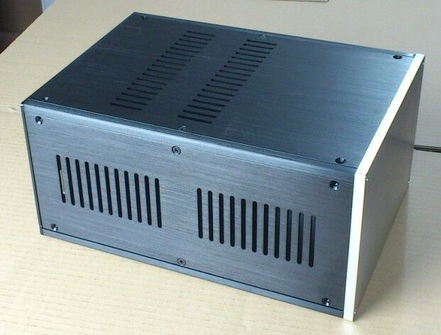 custom Aluminum Enclosure power supply AMP case power amplifier box chassis DIY