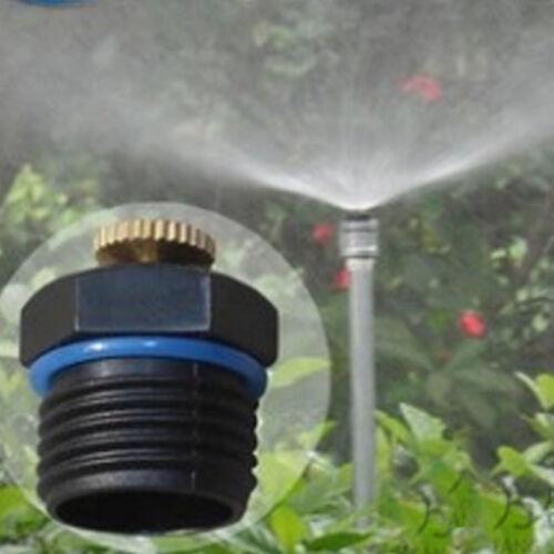 10 xSprühdüse Düse Sprinkler Kopf Nebeldüse Ersartz für Bewässerungsystem Garten