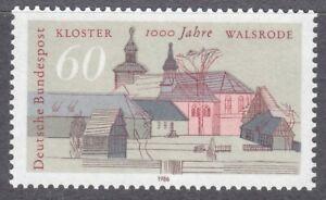 Germany-1986-MNH-Mi-1280-Sc-1459-St-Johannis-Monastery-Walsrode
