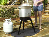Fire Protection Grill Mat Pad Outdoor Deck Patio Smoker Chiminea Firepit Balcony