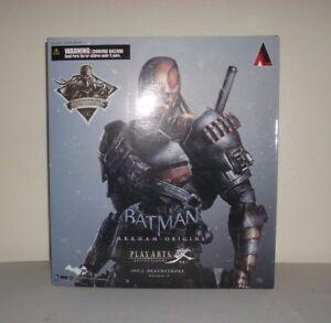 Playarts-Kai-Exclusive-Deathstroke-Figur-Schwarz-amp-Gold-Batman-Arkham-Origins