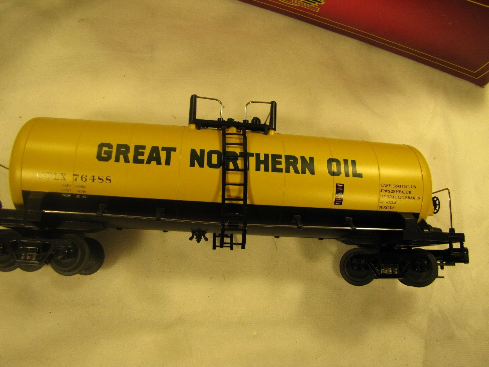 MTH 2096017 Great Northern Tank auto with original scatola