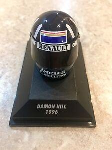MINICHAMPS-1-8-Scale-Damon-Hill-Williams-1996-ARAI-Casque-381960005