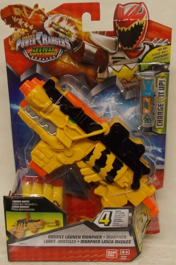 Energia Rangers Dino SuperCharge Missile Launch  Morpher With Flip Up Sight Charge  seleziona tra le nuove marche come