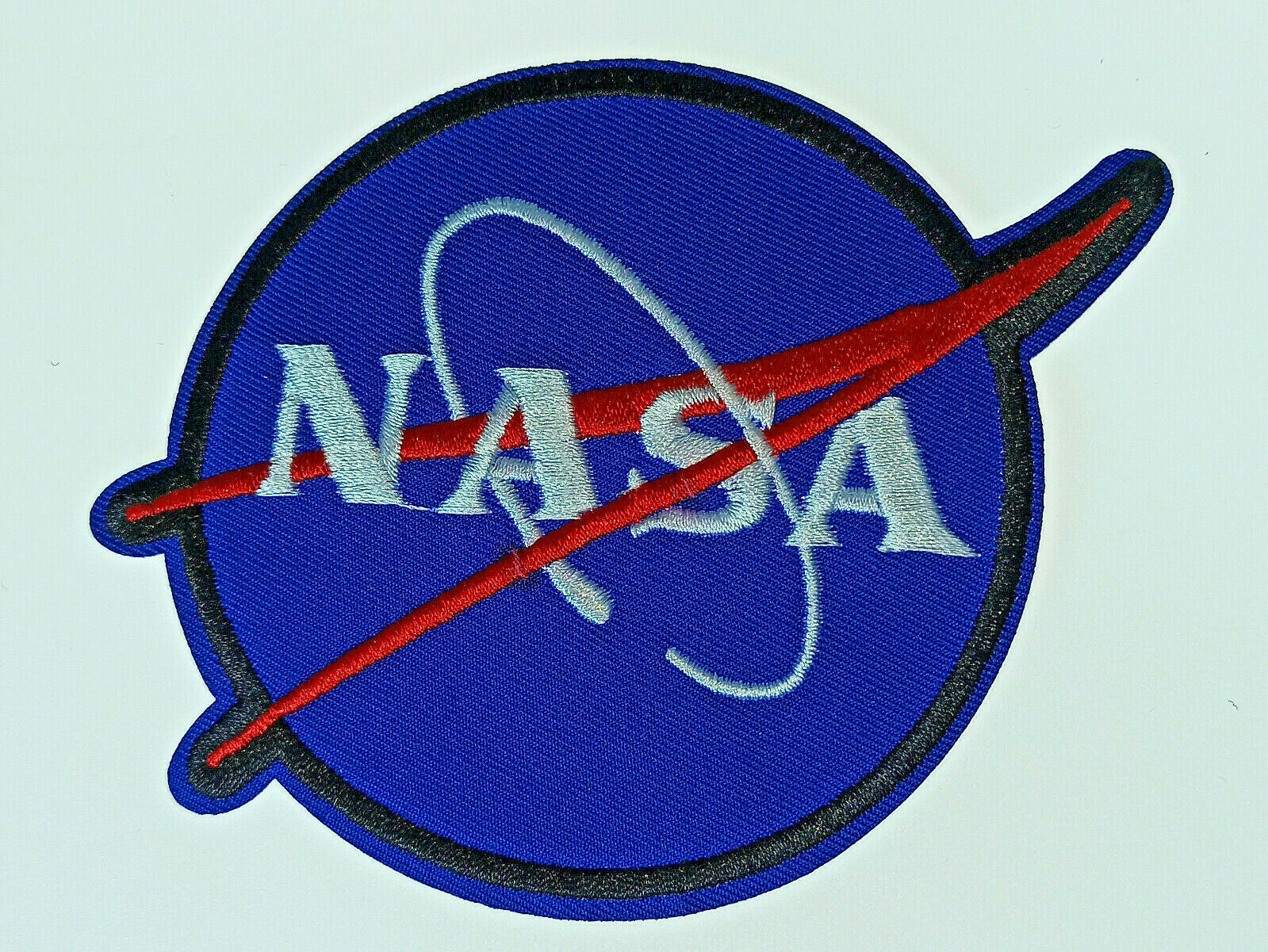 Blue Spaceship Iron On Embroidery Applique Patch Sew Iron Badge