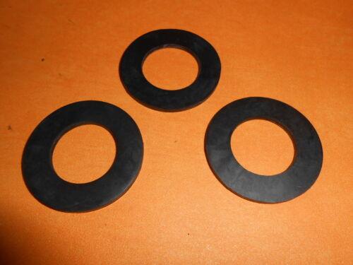 2.5 mm Plat Caoutchouc Joint 44 mm Diamètre 25 mm Trou x3
