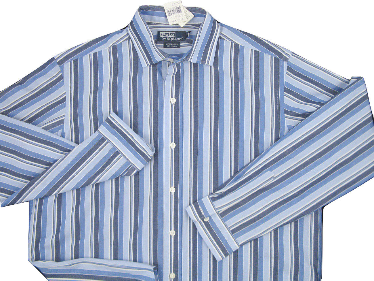 31330178 Polo Ralph Lauren Weathered Stripe Oxford Shirt XL Westerton Style NEW  nynjsy2140-Casual Shirts & Tops
