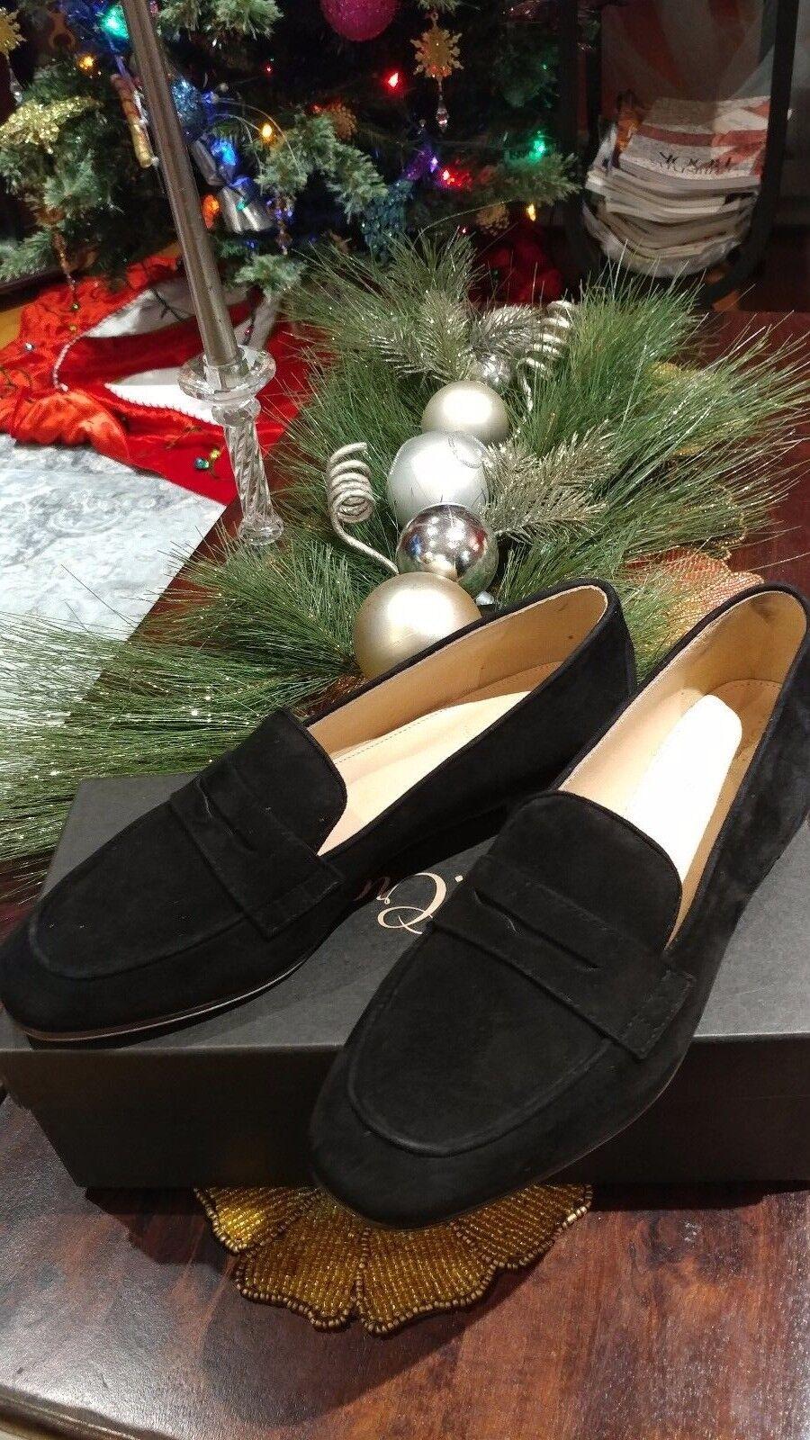 J.Crew Black Suede  New Women  shoes  size  8