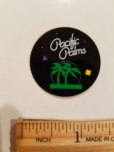 OLD SCHOOL BMX PACIFIC PALMS BMX STICKER