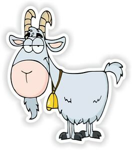 Cool-Goat-Sticker-for-Bumper-Truck-Laptop-Baggage-Suitcase-Tablet