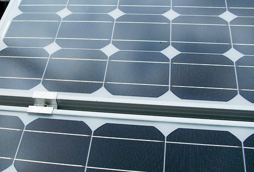 Pack of 2 brackets for Uni-Strut to fit Solar Panels PV