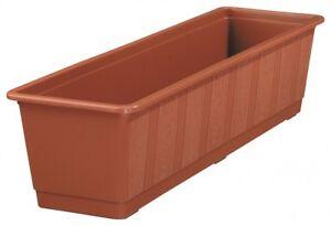 Fioriera-Standard-IN-Plastica-Balconiera-Terrazza-Decorazione-Giardino