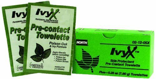 North by Honeywell 021205X ivyx Pre-Contact Lingettes 5 par unité
