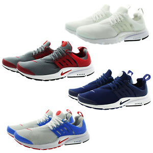 Nike 848187 Mens Air Presto Essential Low Top Running Training Shoes ... 8f4818aed